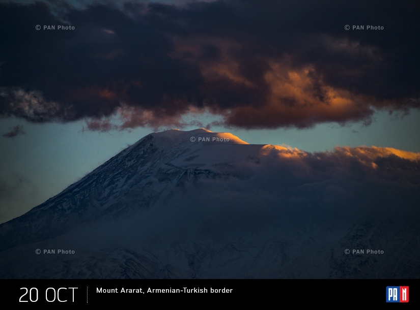 Mount Ararat, Armenian-Turkish border