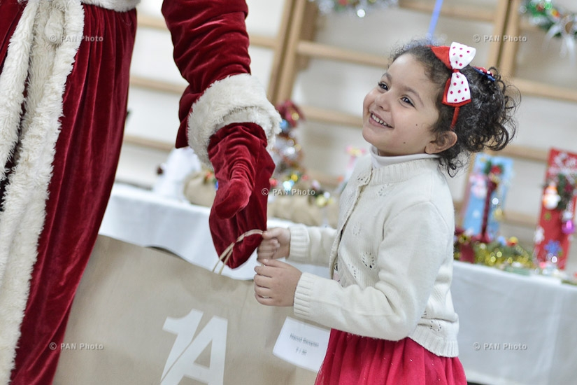 AGBU and Rosneft-Armenia CJSC to Donate 110 Christmas Trees and 100 Winter  Boots to Syrian Armenian Kids