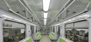 Երևանի մետրոպոլիտենում գործարկվել է նոր վերանորոգված շարժակազմ` երկու վագոնով