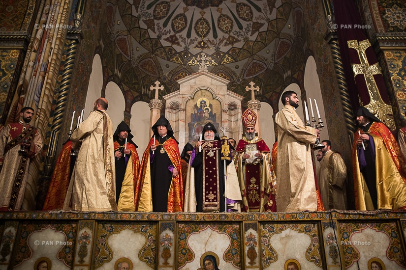 Candlelight Divine Liturgy at Mother See of Holy Etchmiadzin
