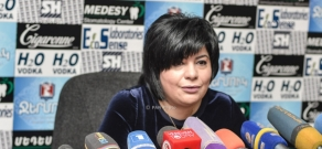 Press conference by Yerevan Ambulance Service Director Taguhi Stepanyan