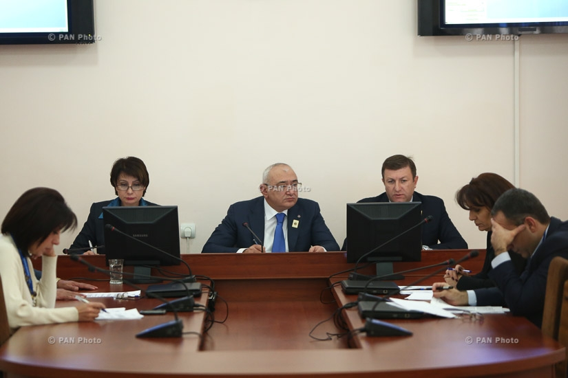 Extraordinary session of Central Electoral Commission of Armenia