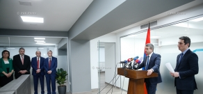Government Center for Strategic Initiatives opens officially, attended by Prime Minister Karen Karapetyan