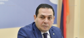 Press conference by Vahe Danielyan, head of the food manufacturing control department at the Agriculture Ministry's Food Safety State Service