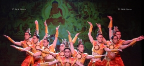 "Concert of the Gansu Song-Dance Ensemble entitled ""Silk Road, Flower Rain"""
