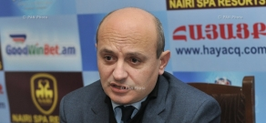 Press conference by President of Armenian Institute for International and Security Affairs Stepan Safaryan