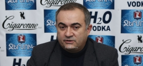 Press conference by Deputy from Heritage Party parliamentary faction Tevan Poghosyan