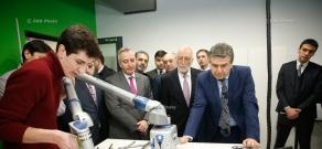 Armenian PM Karen Karapetyan visits American University of Armenia