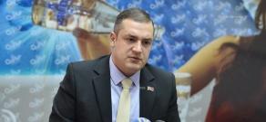 Пресс-конференция депутата Национального собрания Армении Тиграна Уриханяна