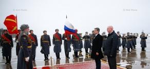 Armenian PM Karen Karapetyan's official visit to Moscow