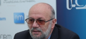 Press conference by the leader of Christian Democratic Renaissance Party Sos Gimishyan