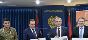 HayPost issues two new stamps dedicated to 25th anniversary of the Armenian army's formation