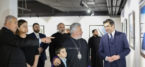 Exhibition of Davit Hakobyan – Personal Photographer of the President of Armenia opens in Moscow