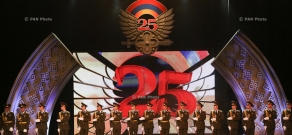 Festive event dedicated to the 25th anniversary of the creation of the RA Armed Forces