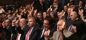 The 9th congress of the Prosperous Armenia Party