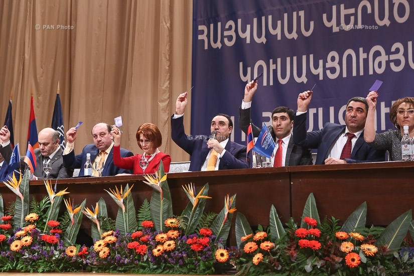 Second congress of the 'Armenian Renaissance Party'