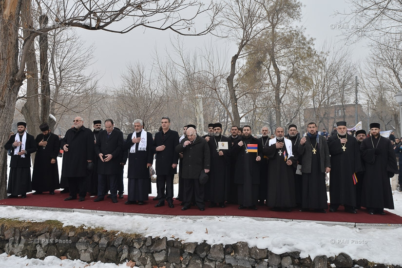 Divine Liturgy and march on the occasion of St. Sarkis Day
