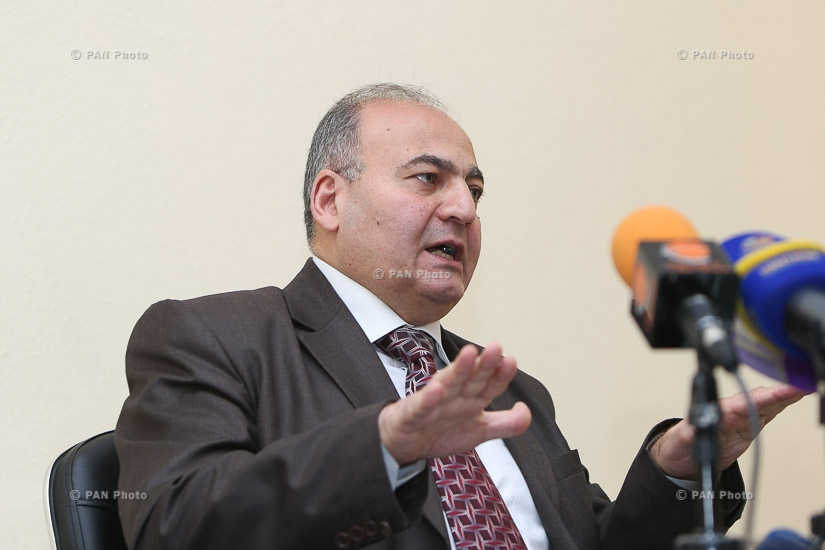 Press conference by 'Third Republic' party leader Viktor Dallakyan