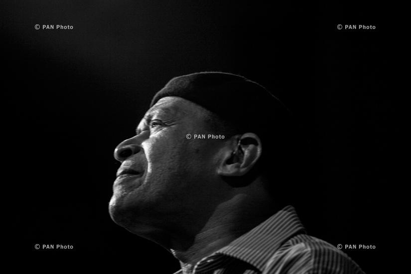 "Концерт Эл Джерро в Ереване в рамках юбилейных мероприятий ""Армянский джаз - 70"""
