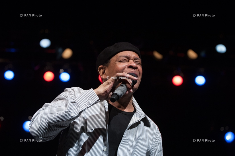 "Concert of Al Jarreau in Yerevan within the framework of ""Armenian Jazz 70"" jubilee events"
