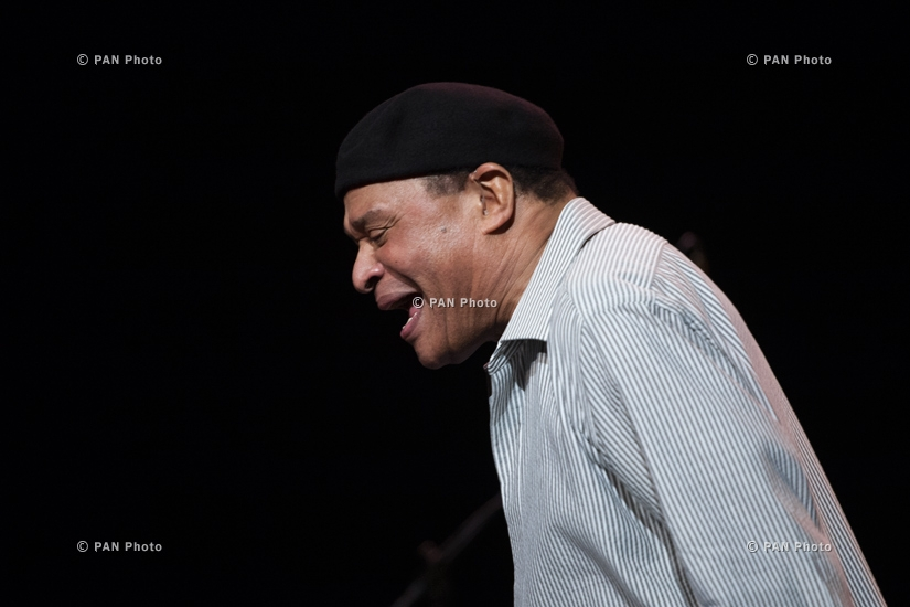 "Concert of Al Jarreau in Yerevan within the framework of ""Armenian Jazz 70"" jubilee events"
