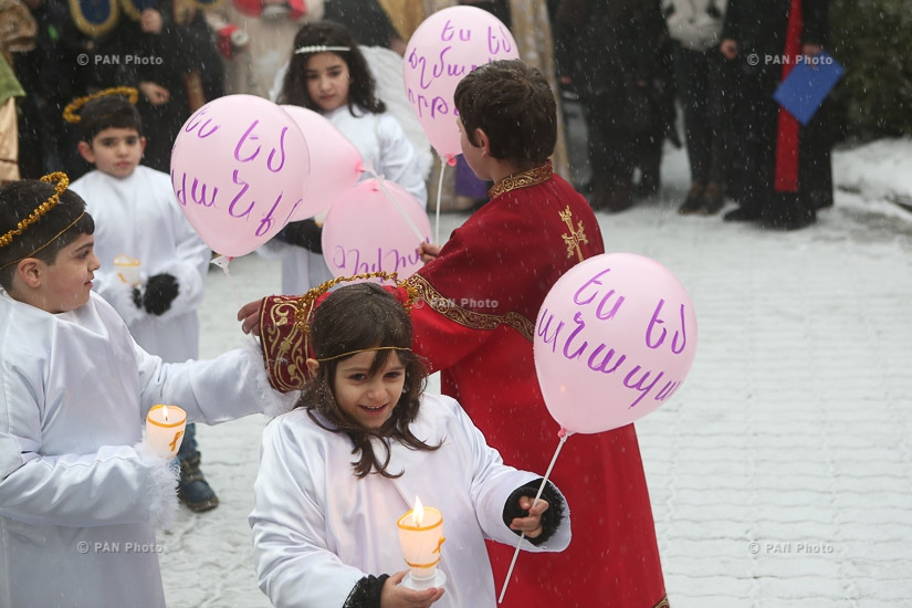 Tiarn'ndaraj (Trndez) celebrations in Yerevan