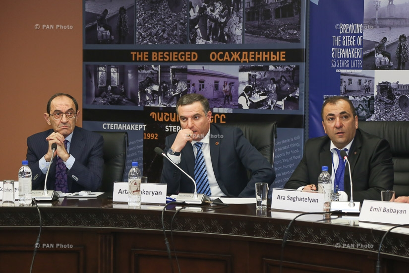 Conference entitled The Breakthrough of the Blockade of Stepanakert: 25 Years Later