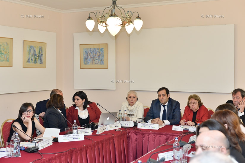 Second round-table discussion on the development of national legal framework of strategic environmental assessment in Armenia