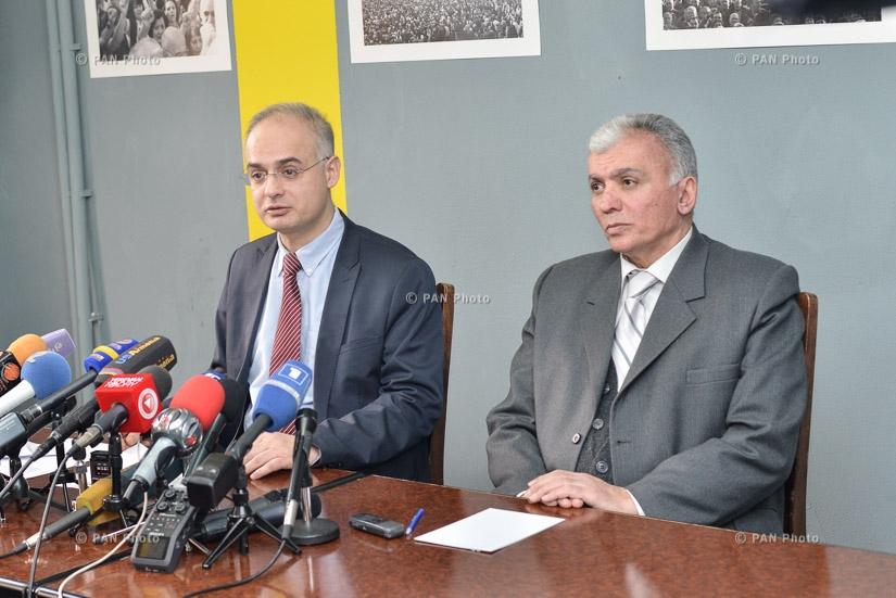 Press conference of Deputy from Armenian National Congress (ANC) Levon Zurabyan