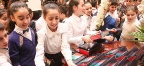 «Մաթեմատիկա» առարկայից՝ 5-րդ և 6-րդ դասարանի աշակերտների միջև կազմակերպված մրցույթի արդյունքների պաշտոնական ազդարարման և հաղթողներին մրցանակների շնորհման արարողությունը