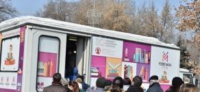 Հայաստանի առաջին շարժական գրախանութի՝ ԳրաԲուսի երթուղու մեկնարկի արարողությունը
