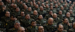 Operational meeting of Armenian President Serzh Sargsyan with the Armed Forces Chief of Staff