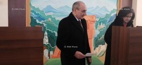 Artsakh (Nagorno Karabakh) constitutional referendum in Setpanakert