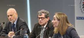 OSCE/ODIHR observers' press conference in Yerevan