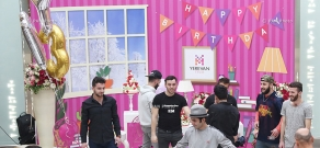Yerevan Mall trade center celebrates 3rd anniversary