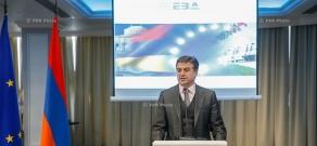 Armenian Prime Minister Karen Karapetyan attends annual meeting of the European Business Association (EBA)