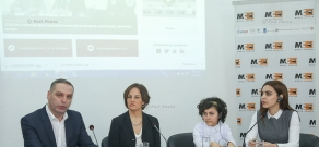 2016 report on children's rights violations in Armenian orphanages and other residential  institutions by Human Rights Watch presented in Yerevan