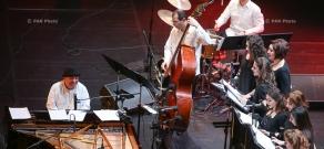 Совместный концерт государственного камерного хора «Овер» и джаз трио Ваагна Айрапетяна