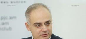 Пресс-конференция депутата от АНК Левона Зурабяна