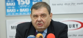 Press conference of Gaspar Karapetyan, the Chairman of Hay Dat Committee of Europe