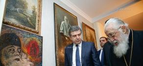 Премьер-министр Армении Карен Карапетян встретился с Католикосом-Патриархом всея Грузии Илией Вторым