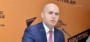 Press conference of RPA Vice President Armen Ashotyan