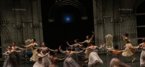 Rehearsal of Aram Khachaturian's 'Masquerade' ballet