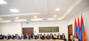 Armenian Prime Minister Karen Karapetyan met with the Heads of Diplomatic Missions and Consular Posts