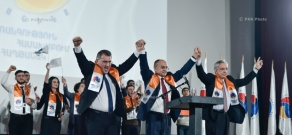 'Ohanyan-Raffi-Oskanyan' alliance introduced its pre-election program