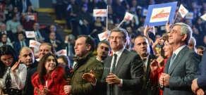 Armenia's ruling Republican Party (RPA) kicked off its campaign