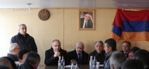 Pre-election meetings of Armenian National Congress (ANC)-People's Party of Armenia alliance