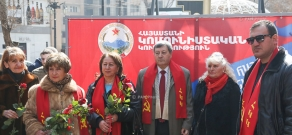 Armenia's Communist party launches its pre-election campaign