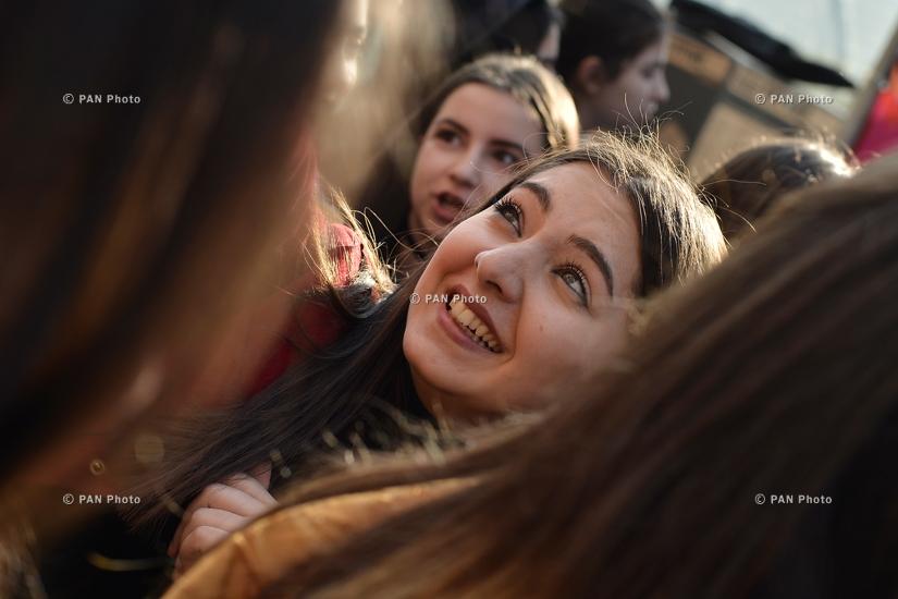 Концерт рок группы Nemra в Ереване