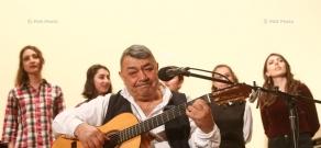 Charity concert of Ruben Hakhverdyan in Gyumri